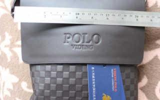 Мини обзор мужской сумки POLO VIDENG