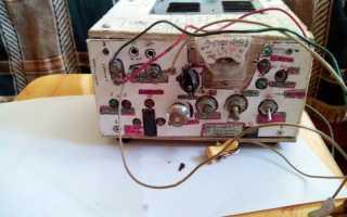 Цифровой лабораторный блок питания с управлением через ПК