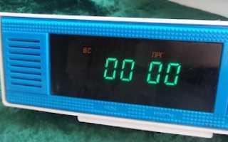 Как настроить часы электроника 7 инструкция