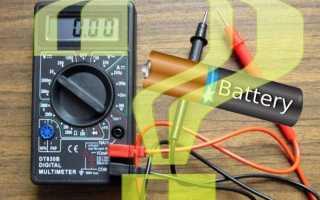 Цифровой тестер для проверки батареек DT15 с LCD экраном