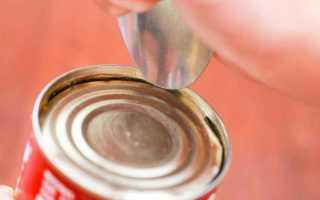 Как открыть консервную банку без открывалки? Советы народных умельцев