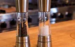 Отзыв: Мельница для соли David Mason Design с керамическим механизмом — Профессиональная помощница на кухне