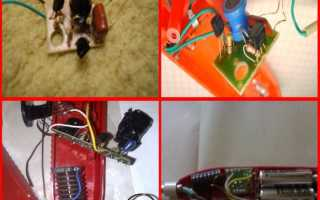 Электронная зажигалка для газовой плиты