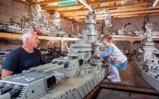 Как сделать корабль из лего своими руками?