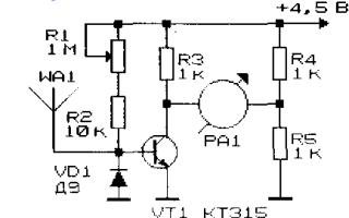 Индикатор напряжённости электромагнитного поля. —  Паркфлаер