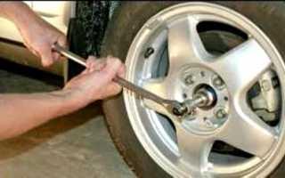 Подшипник передней ступицы (колеса) — снятие и установка