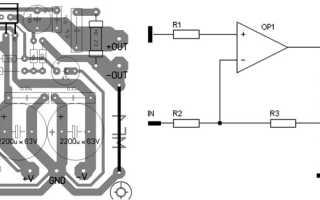Усилитель MF1 на TDA729x (73 Вт/4 и 8 Ом)