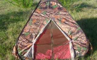 Самораскладывающаяся палатка: мечта лентяя