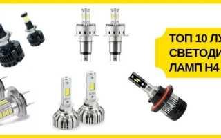 Какие светодиодные лампы лучше для автомобиля: рейтинг ТОП-10 популярных моделей, обзор характеристик