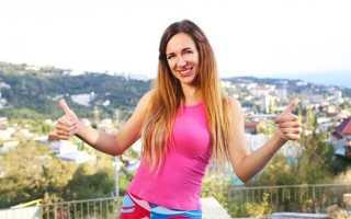 Фитнес-видео для похудения от Елены Силка