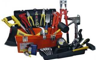Минимальный набор инструмента для столярной мастерской — советы начинающим