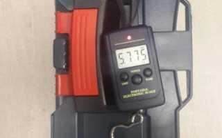 Портативные электронные весы для взвешивания багажа
