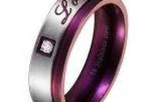 Почему обручальные кольца из титана становятся все более популярными?