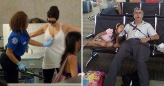 25 забавных снимков о том, что в аэропорту царит своя особая атмосфера