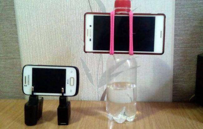 как сделать штатив для телефона