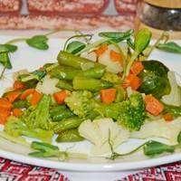 Замороженные овощи в мультиварке на пару