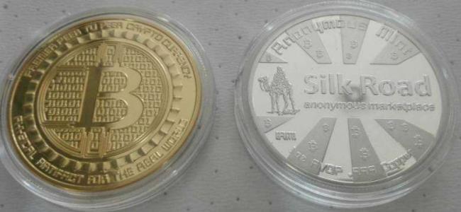 Монета биткоин Silk Road