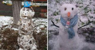 20 снеговиков, которых можно повстречать только на просторах нашей страны