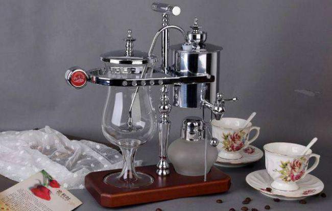 спиртовой сифон для чая