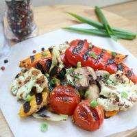 Овощи на домашнем электрогриле